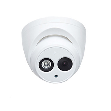 cheap Security & Safety-Dahua® IPC-HDW4433C-A 4MP PoE IP Dome Camera with Night Vision H.265 and Built-in Mic for Outdoor and Indoor