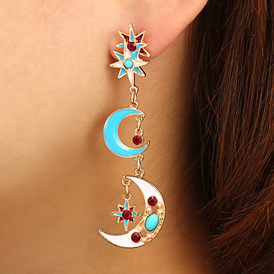539ae9e5c89 Women s Classic Long Drop Earrings Earrings Ladies Artistic Unique Design  Fashion Jewelry Rainbow For Daily Street 1 Pair