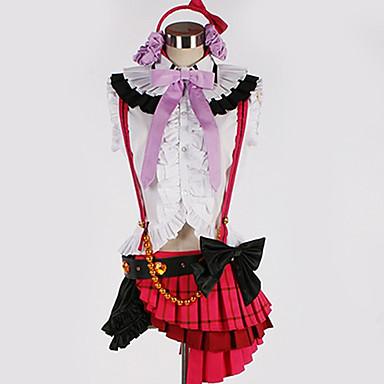 Inspirirana Ljubav uživo Cosplay Anime Cosplay nošnje Japanski Cosplay Suits Šivena čipka Top / Suknja / Rukavice Za Muškarci / Žene