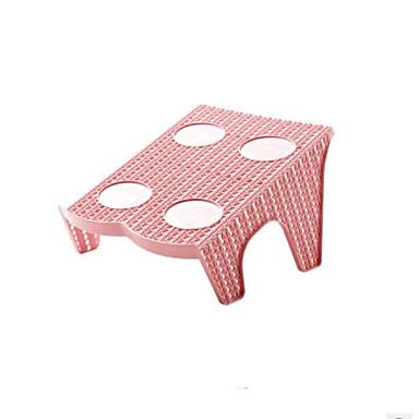 abordables Accessoires pour Chaussures-Cintre & Range Chaussures Plastique 2 paires Unisexe Rose Claire / Jaune / Gris foncé