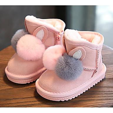 8ece7f31e66 Pige Læder Støvler Toddler (9m-4ys) / Små børn (4-7 år) / Store børn ...