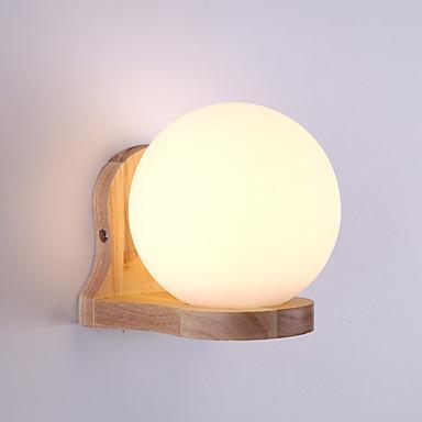 OYLYW Zaštita očiju / New Design Jednostavan / Suvremena suvremena Zidne svjetiljke Stambeni prostor / Spavaća soba Wood / Bamboo zidna svjetiljka 110-120V / 220-240V 60 W