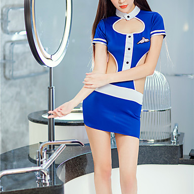 Modesto Per Donna Uniformi E Abiti Tradizionali Cinesi Indumenti Da Notte - Schiena Scoperta Monocolore #07065557 Costruzione Robusta