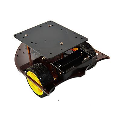 voordelige Elektrische apparatuur & benodigdheden-slimme carrosserie 2wd carrosserie compatibel met arduino cr0025-1