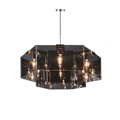 QINGMING® 6-Light Chandelier Downlight Painted Finishes Metal Designers 110-120V / 220-240V Bulb Not Included / E12 / E14