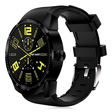 Puntuale King-wear® K98h Plus Da Uomo Intelligente Guarda Android Wi-fi 3g Gps Smart Sportivo Impermeabile Monitoraggio Frequenza Cardiaca Pedometro Avviso Di Chiamata Localizzatore Di Attività Monitoraggio #07069690 Sapore Aromatico