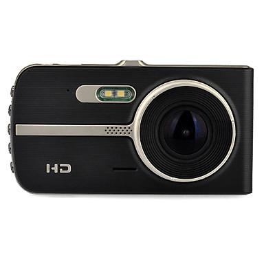 tanie Samochód Elektronika-H83 1080P / Full HD 1920 x 1080 Rejestrator samochodowy 120 stopni / 140 stopni Szeroki kąt 12.0MP CMOS 4 in IPS Dash Cam z Night Vision / Czujnik przyspieszenia / Tryb parkingowy Rejestrator / WDR
