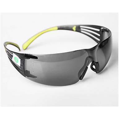 Crna zaštitna naočala za sigurnost na radnom mjestu plastika otporna na prašinu