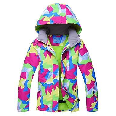 ab4b4ac1a5 RIVIYELE Women s Ski Jacket Skiing Skiing Chinlon Top Ski Wear   Winter