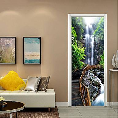 Dekorativne zidne naljepnice - 3D zidne naljepnice Mrtva priroda / Cvjetni / Botanički Stambeni prostor / Study Room / Office