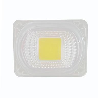 1pc 50w 220v cob vodio čip s objektivom za diy poplava reflektor bijelo toplo bijelo