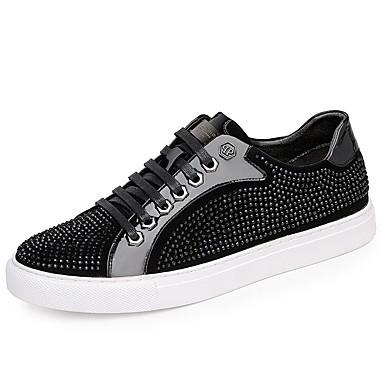 Erkek Ayakkabı PU İlkbahar & Kış Spor Ayakkabısı Günlük için Siyah