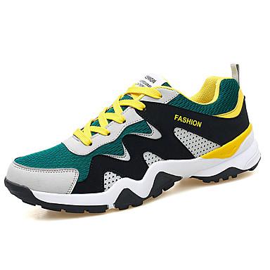 Erkek Ayakkabı Örümcek Ağı Yaz Sportif Atletik Ayakkabılar Koşu Atletik / Günlük için Sarı / Siyah ve Beyaz / Siyah / Kırmızı