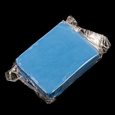 abordables Herramientas de Limpieza para Coche-Barra de barro mágico limpio de coches detalle de coches limpiador azul