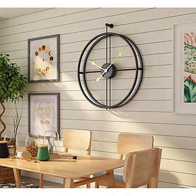 "Wall Clock,Modern Contemporary Fashion Stainless steel Irregular Indoor 20"" x 24"" (50cm x 60cm)"