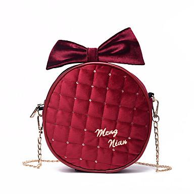 a79a066b3 Women's Bags Velvet Kids' Bag Zipper Red / Pink / Gray