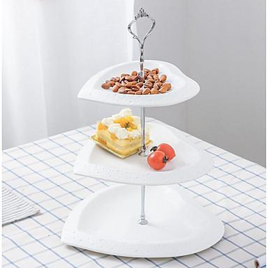 billige Borddekorasjoner-Keramikk Borddekorasjon - Ikke-personalisert Pyntegjenstander / Kakestativ Solid 1 pcs Alle årstider