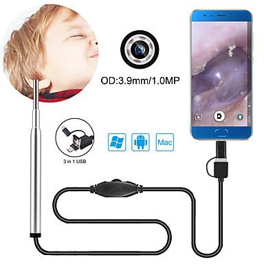 3,9 mm objektiv hd usb endoskop 156 cm pracovní délka 3 v 1 doma a kancelář s USB portem