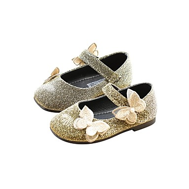75caabd1f66 Girls  Shoes Faux Leather Spring   Fall Ballerina   Flower Girl Shoes Flats  for Toddler