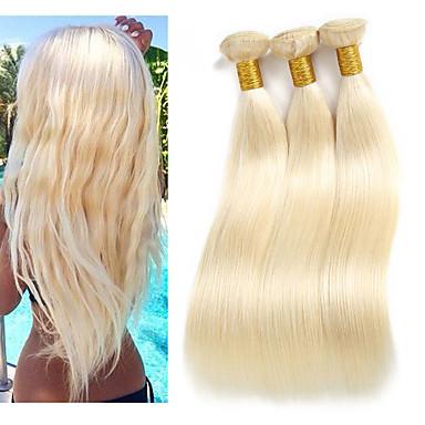3 pacchetti Brasiliano Liscio capelli naturali Remy Extension di capelli umani 10-26 pollice Naturale Tessiture capelli umani Migliore qualità Nuovo arrivo vendita calda Estensioni dei capelli umani