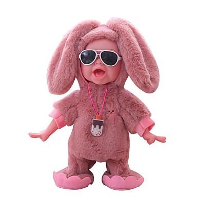 halpa Nukke-Reborn Dolls Puhuva lelu Poikavauvat 12 inch Smart elävä Lapset / nuoret Lasten Unisex Lelut Lahja