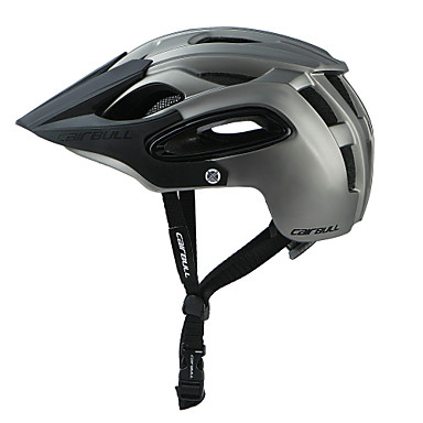 CAIRBULL Adults' Bike Helmet 18 Vents Impact Resistant Insect Net Integrally-molded ESP+PC Sports Road Bike Mountain Bike MTB Cycling / Bike - Green Blue Grey Unisex