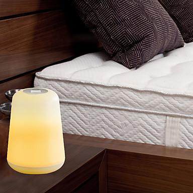 BRELONG® 1pc LED Night Light Blanc USB Transport Facile / Décoration / Chevet 5 V