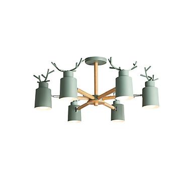 6-light Sputnik Lampadari Faretto Finiture Verniciate Lega Di Zinco Metallo Nuovo Design 110-120v - 220-240v #07138778 Design Accattivanti;