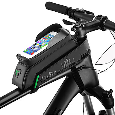 ROCKBROS Cell Phone Bag / Bike Frame Bag 5.8/6.0 inch Touch Screen, Waterproof, Portable Cycling for Cycling / iPhone X / iPhone XR Green / Black / iPhone XS / iPhone XS Max