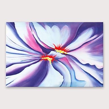 هانغ رسمت النفط الطلاء رسمت باليد - الأزهار / النباتية الحديث تشمل الإطار الداخلي