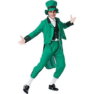 Coscienzioso Peter Pan Costume Per Adulto Per Uomo Completi Halloween Carnevale Festa Di San Patrizio Feste - Vacanze Tessuto Felpato Poliestere Verde Costumi Carnevale 4 Foglie Shamrock Novità #07125016 Design Accattivanti;