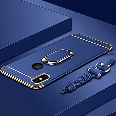hesapli iPhone Kılıfları-Pouzdro Uyumluluk Apple iPhone XS / iPhone XR / iPhone XS Max Kaplama / Yüzüklü Tutacak / Ultra İnce Arka Kapak Solid Sert PC