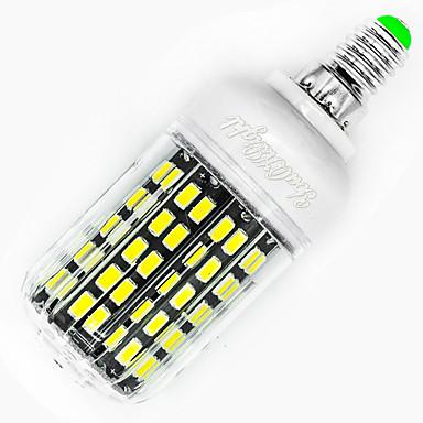 billige Elpærer-YouOKLight 1pc 8 W LED-kornpærer 640 lm E12 T 136 LED perler SMD 5733 Dekorativ Hvit 110-120 V / RoHs / FCC