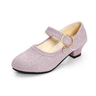 povoljno Beba & Djeca-Djevojčice Sintetika Cipele na petu Mala djeca (4-7s) / Velika djeca (7 godina +) Udobne cipele / Sitni pete za mlade Zlato / Plava / Pink Proljeće