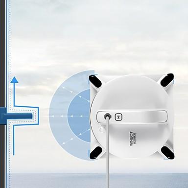 billige Vacuum-Ecovacs Robotiske støvsugere Cleaner DL33+W950 Selvopplading Timing Funksjon Våt og tørt mopping WIFI Automatisk rengjøring Spotrengjøring Kantrensing