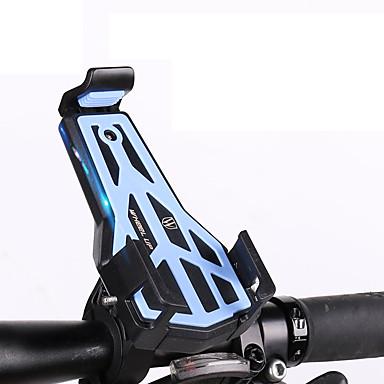 Wheel up Mount สายปรับได้ / สามารถพับเก็บได้ ป้องกันการลื่นล้ม Universal สำหรับ จักรยานใช้บนถนน จักรยานปีนเขา อลูมิเนียมอัลลอยด์ iPhone X iPhone XS iPhone XR จักรยาน สีเขียว ฟ้า สีเทา
