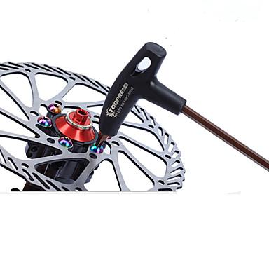 abordables Accessoires de Vélo-Outils de vélo Portable Kit de réparation Multifonctionnel Durable Pour Vélo de Route Vélo tout terrain / VTT Vélo pliant Vélo à Pignon Fixe Cyclisme Acier Noir