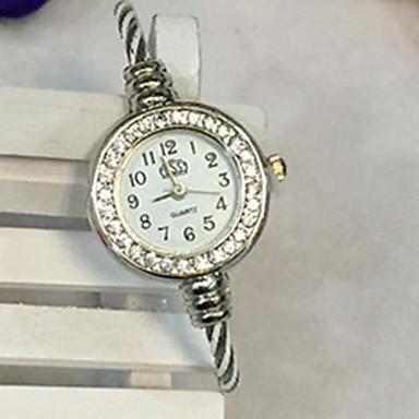 baratos Relógios Senhora-Mulheres Bracele Relógio Casual Fashion Preta Branco Azul Lega Chinês Quartzo Preto Vermelho Roxo Relógio Casual Adorável Analógico