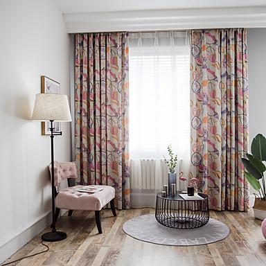 Nykyaikainen Pimennys One Panel Verho Olohuone   Curtains