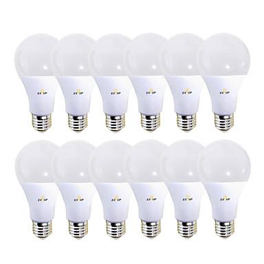 billige Elpærer-EXUP® 12pcs 12 W LED-globepærer 1180 lm B22 E26 / E27 28 LED perler SMD 2835 220-240 V 110-130 V