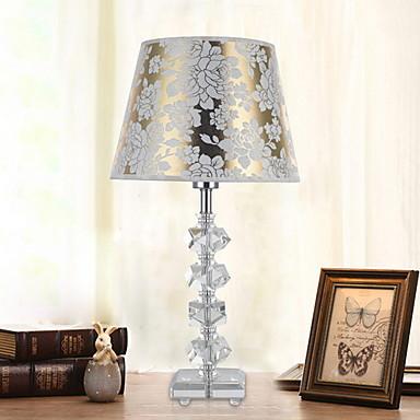 Simple Dekorativ Bordlampe Til Soveværelse Krystal 220 V