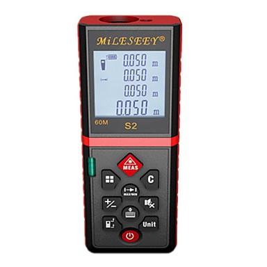 voordelige Waterpasinstrumenten-mileseey s2 laserafstandsmeter 100m laser afstandsmeter laser afstandsmeter meetlint meetbereik / volumetool