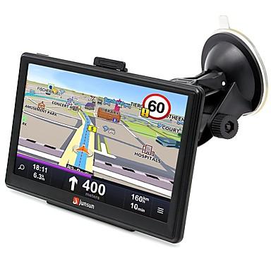 voordelige Automatisch Electronica-Junsun d100-bt hd auto gps navigator 7.0 inch win ce 6.0 multimedia speler navigatie 3d capacitief touchscreen fm bluetooth avin navitel gratis kaartupdate