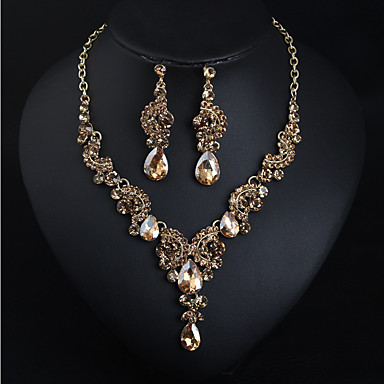 23d3665fa Women s Cubic Zirconia Layered Jewelry Set Drop