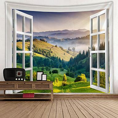Kukkais-teema Wall Decor 100% polyesteri Moderni Wall Art, Seinävaatteet Koriste