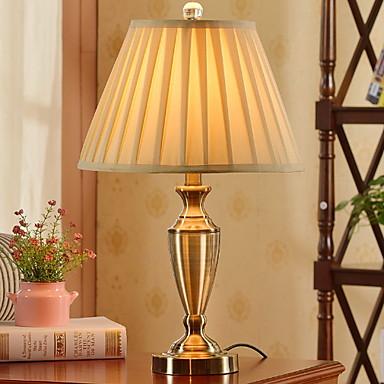 Enkel Dekorativ Bordlampe Til Soverom Metall 220V