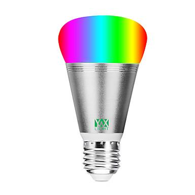 abordables Ampoules électriques-YWXLIGHT® 1pc 11 W Ampoules Globe LED 800-900 lm E26 / E27 20 Perles LED SMD 5730 Contrôle de l'APP Elégant Intensité Réglable RGBW RGBWW 85-265 V / RoHs