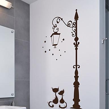 Ozdobné samolepky na zeď - Zvířecí nálepky na zeď Zvířata Obývací pokoj / Ložnice / Kuchyň