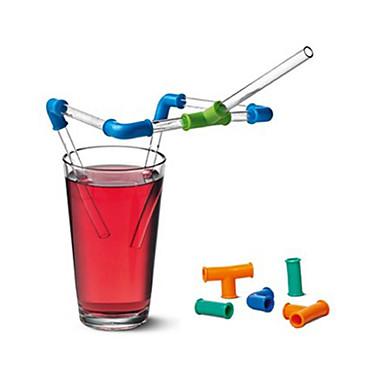 Diligente Bicchieri Cannucce Plastica Mini - Cartoni Animati Casual #07148668