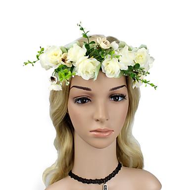 billige Hodeplagg til fest-skum med Blomst 1 Deler Dagligdagstøy Hodeplagg